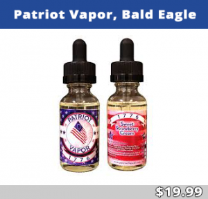 Patriot Vapor, Bald Eagle
